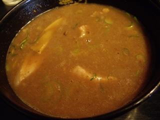 つけ麺 無極 濃厚豚骨つけ麺(つけ汁)