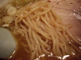 のがたのいそべ 魚介そば(麺)