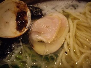 麺屋大漁まこと 蛤そば(蛤)