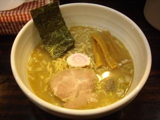 入谷製麺 煮干しソバ