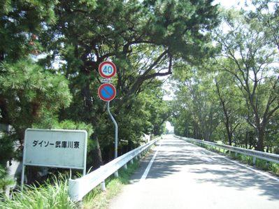武庫川沿い