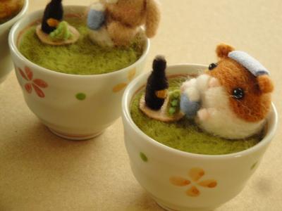 お茶風呂で一杯②-2