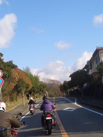 空は青い(^ー^)でも寒~い!!