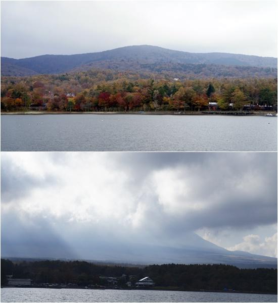 2014山中湖と富士山