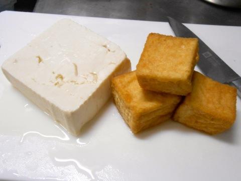 豆腐と厚揚げ