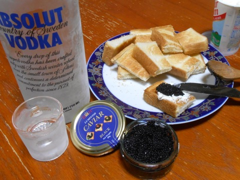 Caviar & Vodka