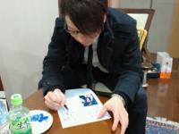 20130330 西はじめ~KIJI~演奏後サイン中