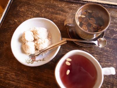 サンファ茶とザクロ茶