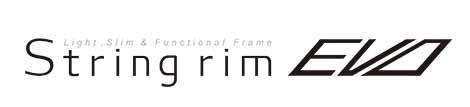 string rim EVO ロゴ