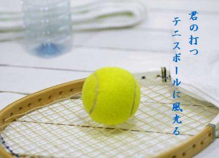 テニス君の打つ