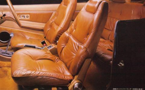78年11月 ギャランΛ2000スーパーツーリング 本革