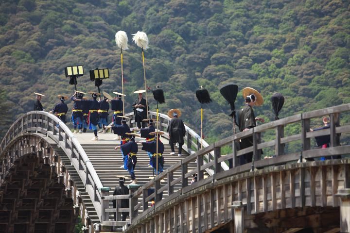 錦帯橋まつり201304