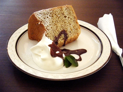 『Lumiere(ルミエール)』の紅茶のシフォンケーキ