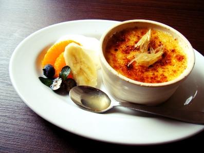『Lumiere(ルミエール)』の生姜のクレームブリュレ