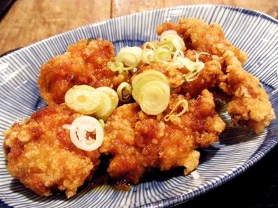 『伍楽(ごらく)』の地鶏の竜田揚げ定食