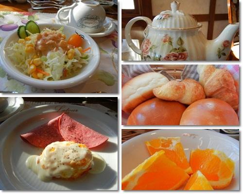 プチホテルラテュールの朝食
