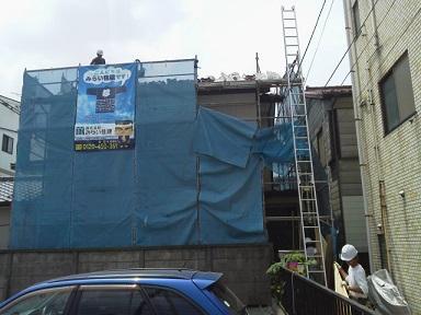 みらい住建 リフォーム 外壁塗装6号28日縮小