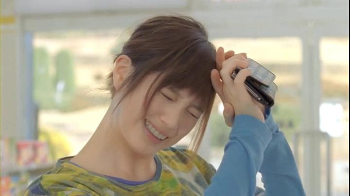 2代目【GTO】神崎麗美(本田翼)C1000第2弾「コンビニ」篇、 油断を公開する神崎