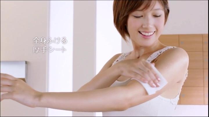 2代目【GTO】神崎麗美(本田翼)ビオレCM(通勤篇)に登場!神崎の艶っぽい肌1
