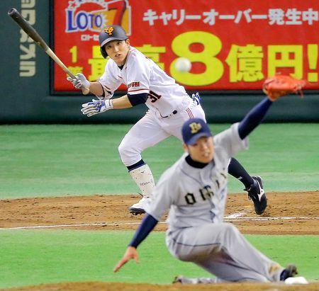 2013年、巨人の松本哲也選手が今シーズン10回目のマルチ&初の5安打!