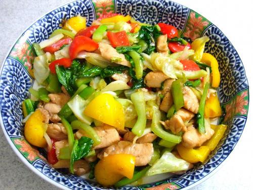 130824-211鶏肉と野菜の炒め(S)