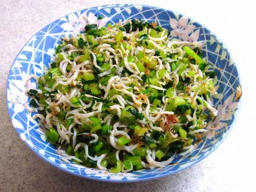 130824-231小松菜のしらすおかか和え(S)