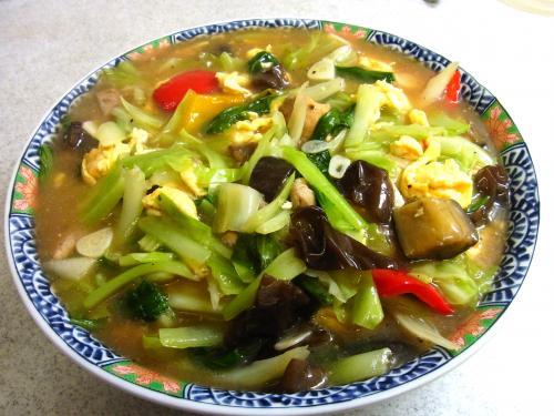 130908-221鶏肉と玉子と野菜のうま煮(S)