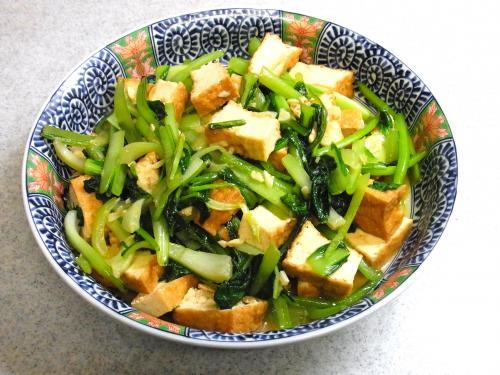 131012-221厚揚げと青菜の炒め(S)