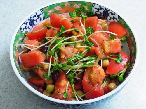131014-231トマトと豆とかいわれのサラダ(S)