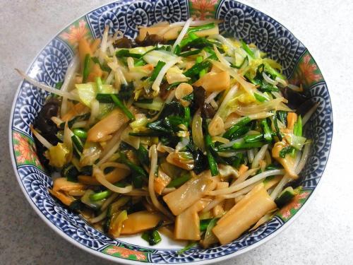 141122-221野菜とメンマの炒め(S)