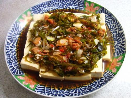 141122-231めかぶキムチ豆腐(S)