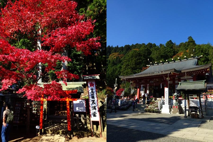 2014年11月 大山 阿夫利神社下社