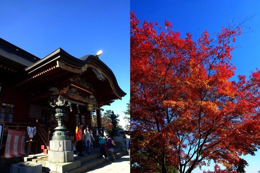 2014年11月 御岳山 武蔵御嶽神社