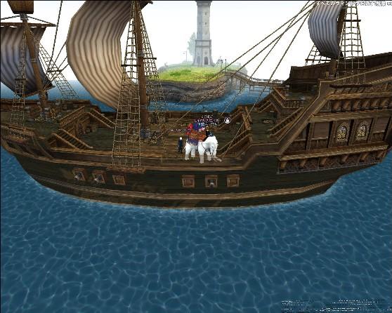 カブ港船上にて