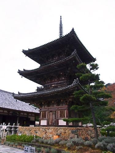 壷阪寺三重塔