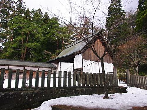 土津神社本殿