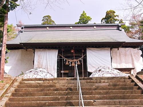 土津神社拝殿