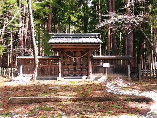 土津神社奥の院