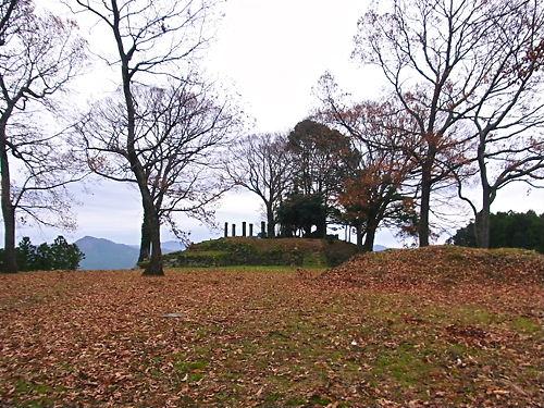 秋山城本丸
