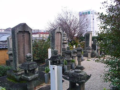徳蓮院藤堂家墓所