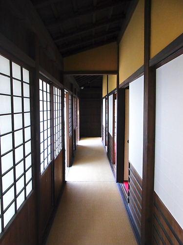 名張藤堂家屋敷内部