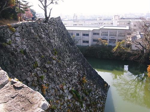 伊賀上野城高石垣 (6)
