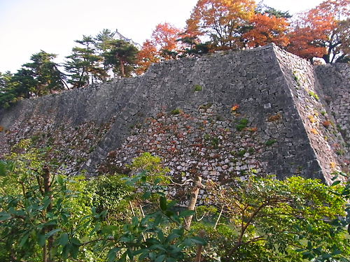 伊賀上野城高石垣 (3)