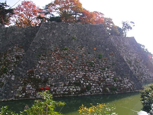 伊賀上野城高石垣 (2)