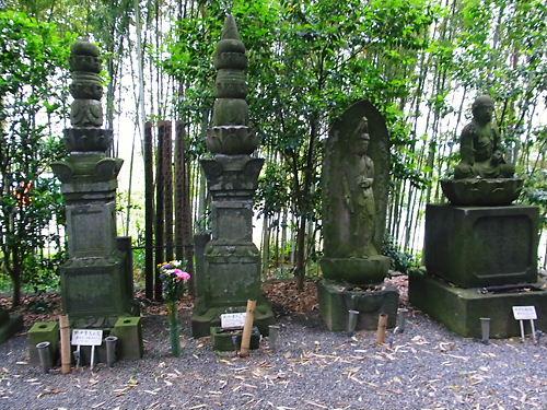 比企氏の墓所