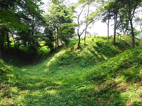 滝の城堀跡 (2)