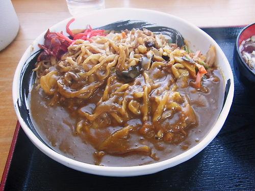 会津のカレー焼きそば
