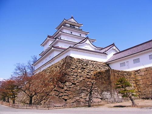 鶴ヶ城天守 (2)