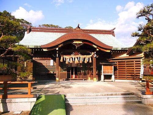 結城神社拝殿