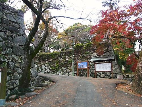 松阪城追手門?